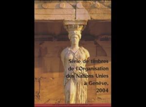 UNO Genf Jahressammelmappe 2004, postfrisch **