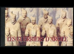 UNO Genf Markenheftchen 2 UNESCO-Welterbe Die Terrakotta-Krieger 1997, **
