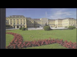 UNO Genf Markenheftchen 3 UNESCO-Welterbe Schloss Schönbrunn 1998, ESSt Genf