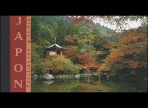 UNO Genf Markenheftchen 6 UNESCO-Welterbe Japan 2001, ESSt Genf