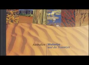 UNO Wien: Markenheftchen 4 UNESCO-Welterbe Australien 1999, **