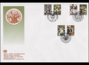 UNO Trio-FDC 6 Würde und Teilhabe für Senioren 5.2.1993
