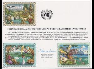 UNO Erinnerungskarte EK 39 ECE und Umwelt 1991, ungebraucht **
