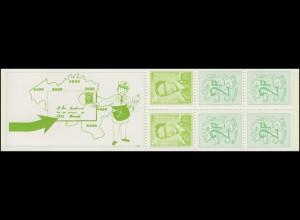 Belgien Markenheftchen 22 Löwe und König Baudouin 15 Franc 1972, **