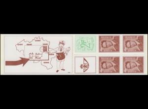 Belgien-Markenheftchen 23 Löwe und König Baudouin 20 Franc 1972, **
