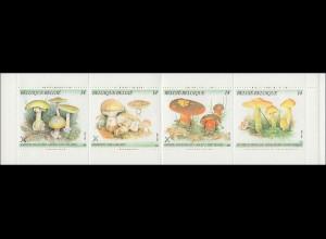 Belgien-Markenheftchen 32 Pilze 56 Franc 1991, **