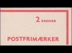 Dänemark Markenheftchen 26 Ziffern und Königin Margrethe 1979, ** postfrisch