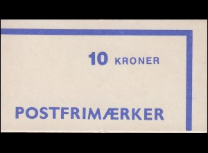 Dänemark Markenheftchen 31 Ziffern und Königin Margrethe 1983, ** postfrisch