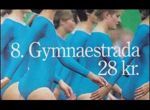 Dänemark Markenheftchen 897 Gymnaestrada: Bänder und Ball, ** postfrisch