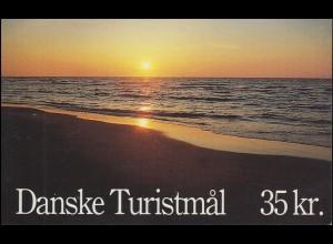 Dänemark Markenheftchen 1003 NORDEN - Tourismus, ** postfrisch