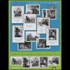 3656-3640 Alltagsleben im 20. Jahrhundert Urlaubsbilder - Kleinbogen **