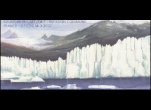 Block 98 Expeditionen in Grönland - Schönste 2007 ** - in Faltkarte