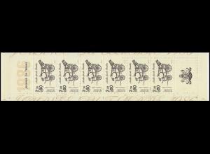 Markenheftchen 5 Tag der Briefmarke, **