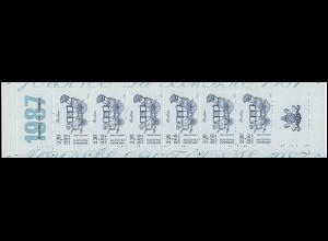 Markenheftchen 8 Tag der Briefmarke, **