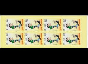 Markenheftchen 57 Fest der Briefmarke Comicfigur, **