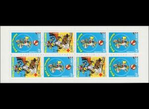 Markenheftchen 61 Fest der Briefmarke Comicfigur Lucky Luke, **