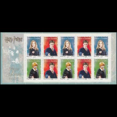 Markenheftchen 69 Fest der Briefmarke Harry Potter, **
