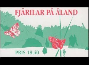 Aland Markenheftchen 2 Schmetterlinge, postfrisch **