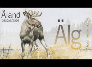 Aland-Markenheftchen 8 Der Elch, postfrisch **