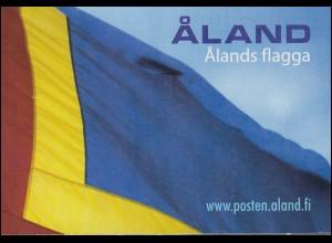 Aland-Markenheftchen 234 Jubiläum 50 Jahre aländische Flagge, selbstklebend **