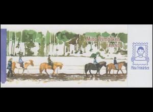 Aland-Markenheftchen 302 Meine Marke - Pferd mit Reiter, selbstklebend **