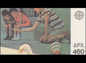 Griechenland Markenheftchen 12 Europa 1989, ** postfrisch