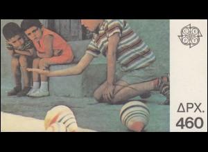 Griechenland Markenheftchen 12 Europa 1989, Ersttagsstempel ATHEN 22.5.89