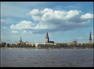420-446 Lettland / Latvija Jahrgang 1996 auf Ersttagsblättern ETB in einer Mappe