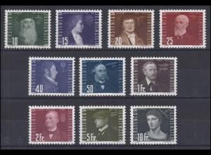 257-266 Liechtenstein-Jahrgang 1948 komplett, postfrisch **