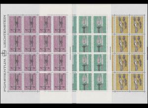751-753 Jagdwaffen 1980, 3 Werte, Kleinbogen-Satz **