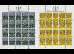 764-765 Europa /CEPT - Folklore 1981, Kleinbogen-Satz **