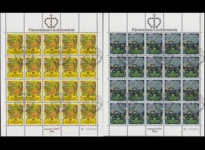 764-765 Europa /CEPT - Folklore 1981, Kleinbogen-Satz ESSt