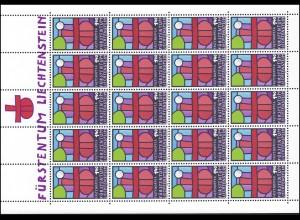 895 Fastenopfer 1986, Kleinbogen **