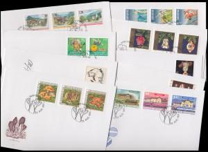 1145-1164 Liechtenstein-Jahrgang 1997 komplett auf FDC mit ESSt Vaduz