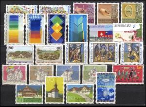1165-1189 Liechtenstein Jahrgang 1998 komplett, postfrisch