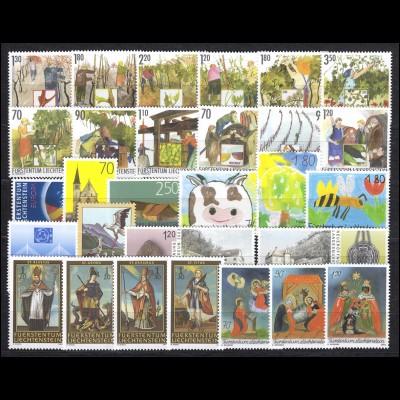 1310-1338 Liechtenstein Jahrgang 2003 komplett, postfrisch