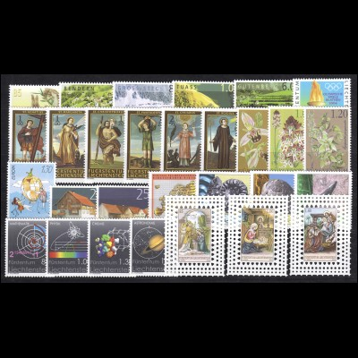 1339-1367 Liechtenstein Jahrgang 2004 komplett, postfrisch