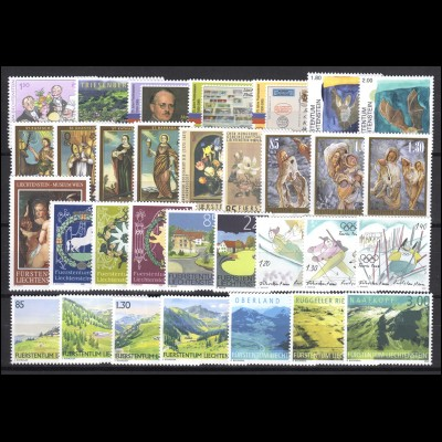 1368-1399 Liechtenstein Jahrgang 2005 komplett, postfrisch