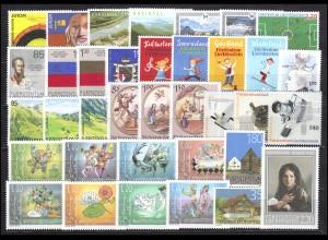 1400-1435 Liechtenstein Jahrgang 2006 komplett, postfrisch