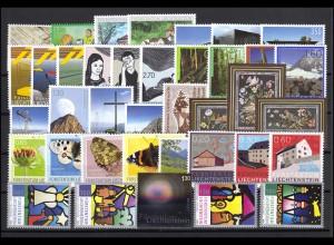 1505-1542 Liechtenstein Jahrgang 2009 komplett, postfrisch