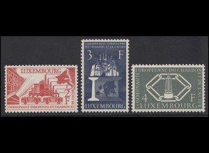 552-554 Vier Jahre Montanunion 1956, Luxemburg **
