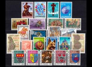 1068-1090 Luxemburg Jahrgang 1983 komplett, postfrisch
