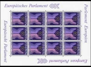 1097 Zweite Direktwahl zum Europäischen Parlament 1984, Kleinbogen **