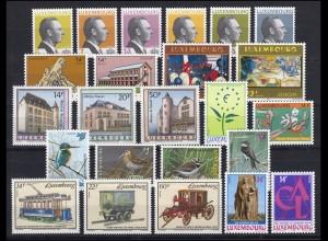 1310-1333 Luxemburg Jahrgang 1993 komplett, postfrisch