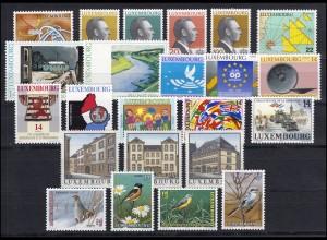 1334-1356 Luxemburg Jahrgang 1994 komplett, postfrisch