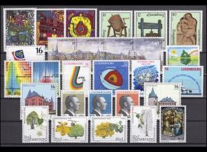 1357-1384 Luxemburg Jahrgang 1995 komplett, postfrisch