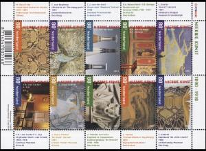 1885-1894 Jugendstil 2001 - Kleinbogen, postfrisch **