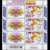 2011-2012 EUROPA / CEPT: Zirkus 2002 - Kleinbogen, postfrisch **
