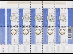 2096-2097 Wertzeichendruckerei Joh. Enschede 2003 - Kleinbogen, postfrisch **