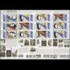 Block-Set 142-144 Grenzenlose Niederlande - Indonesien 2012 **